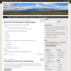 Mount Kailash WordPress Theme Screenshot